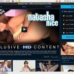 Natasha Nice Trial Sign Up