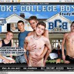 New Broke College Boys