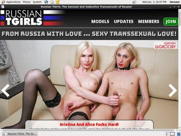 New Free Russiantgirls Account