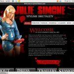New Juliesimone.com Porn