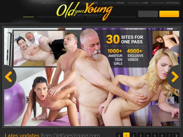 Oldgoesyoung.com Discount Link