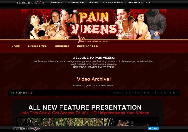 Pain Vixens Free Acc
