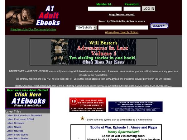 Premium A1 Adult Ebooks Pass