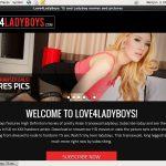 Premium Love4ladyboys.com Pass