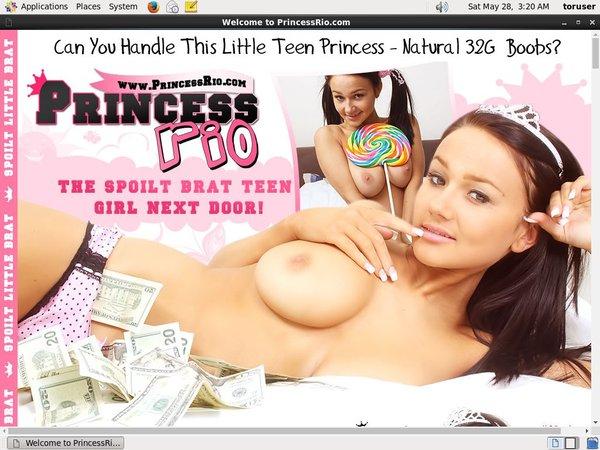 Princess Rio Free Passwords