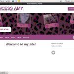 Princessamy.modelcentro.com Live