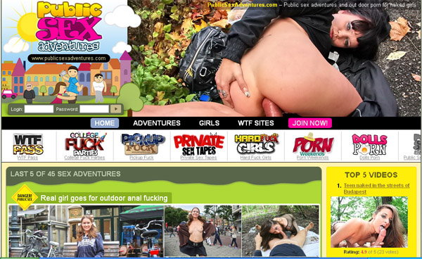 Publicsexadventures Save 50% On 30Day Pass