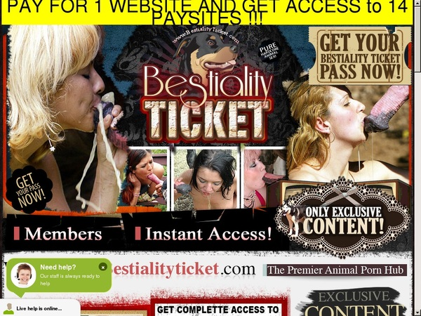 Register Bestialityticket