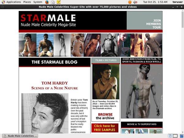 Starmale.com Limited Promo