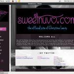 Sweetnuvo.com 암호