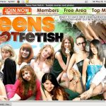 Teens Foot Fetish Trial Sign Up