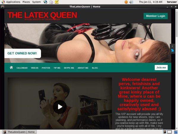 The Latex Queen Porn Site
