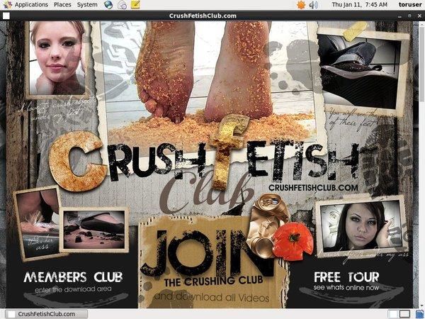 Trial Crush Fetish Club Free