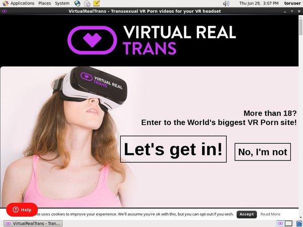 Trial Membership Virtual Real Trans