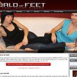 WORLD OF FEET Com Discount Trial