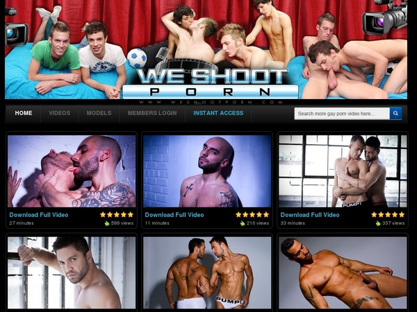 We Shoot Porn Discounted