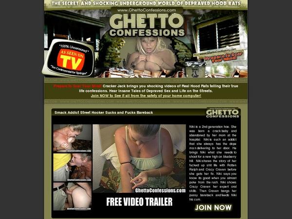 Where To Get Free Ghettoconfessions.com Account