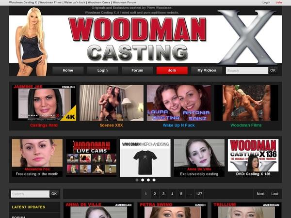 Woodman Casting X Get Access