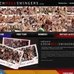 Working Czech Mega Swingers Pass