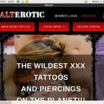 Alt Erotic Pricing