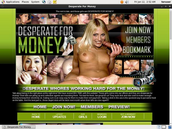 Desperate For Money Xxx Video