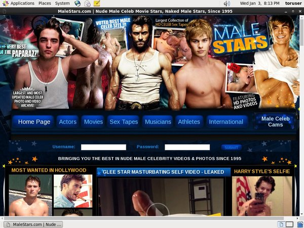 Malestars.com Join With SMS