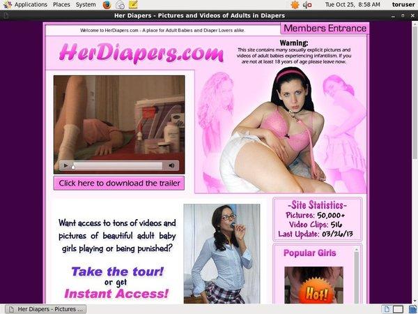 Passwords Her Diapers