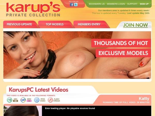 Premium Account For Karupspc