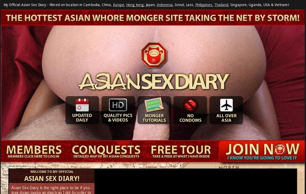 Asian Sex Diary Discount Account