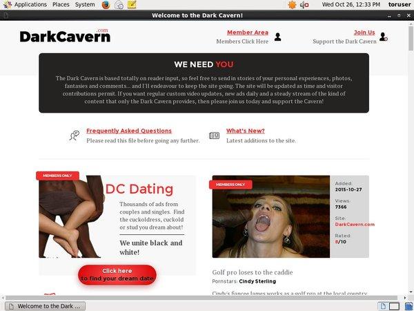 Dark Cavern Account Free