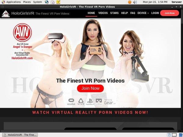 Free Holo Girls VR Member