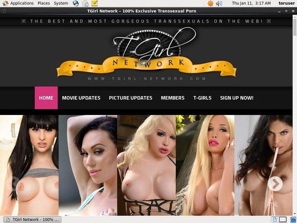 Tgirl-network.com Discount Password
