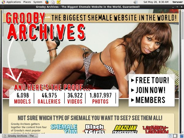 Thegroobyarchives Password And Account