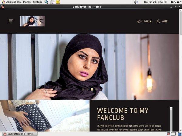 SadyaMuslim With AOL Account