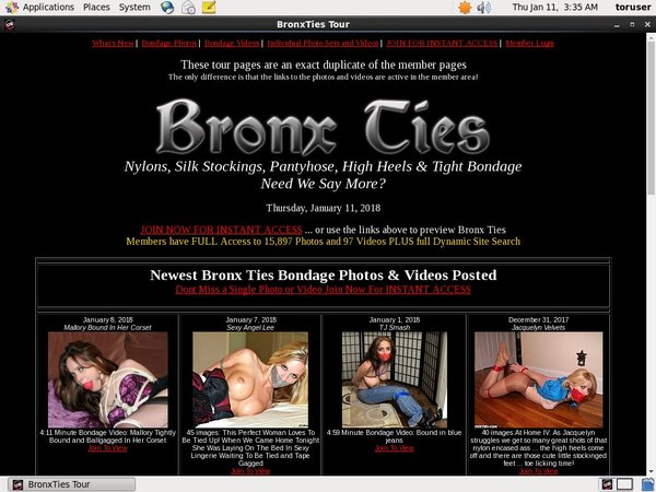 Bronx Ties Promo Offer