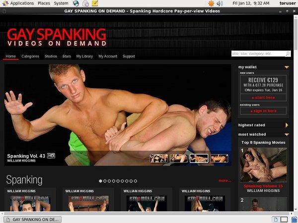 Free Login For Gay Spanking