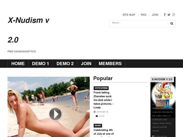 Get X-nudism.com Free Trial