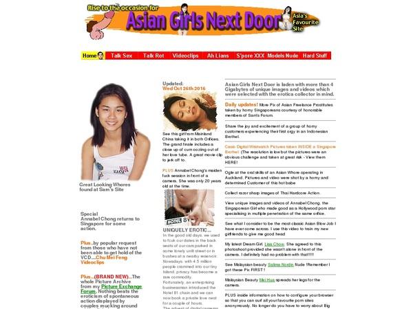 Asian Girls Next Door Free Acount