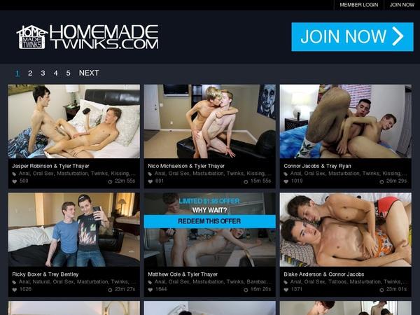 Free Homemadetwinks.com Passwords