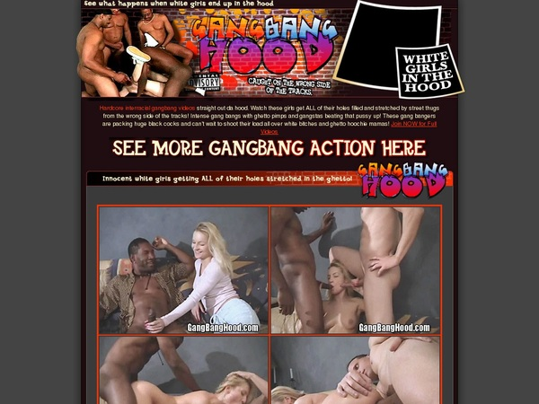 Gang Bang Hood Free Site