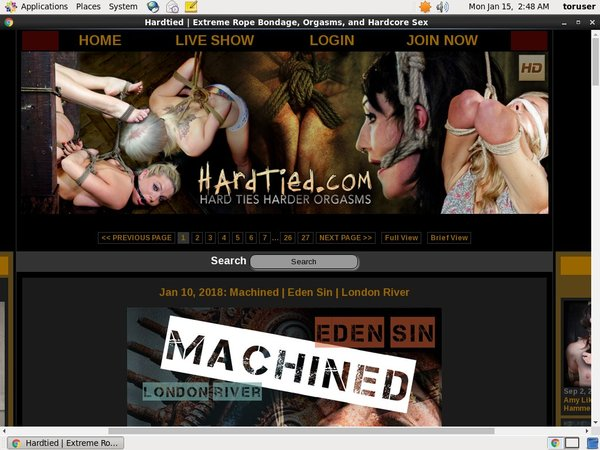 Hard Tied Hack Account