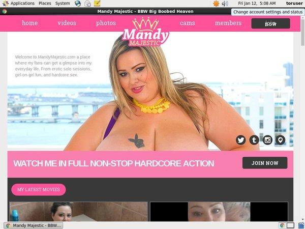 Mandy Majestic Free Pass