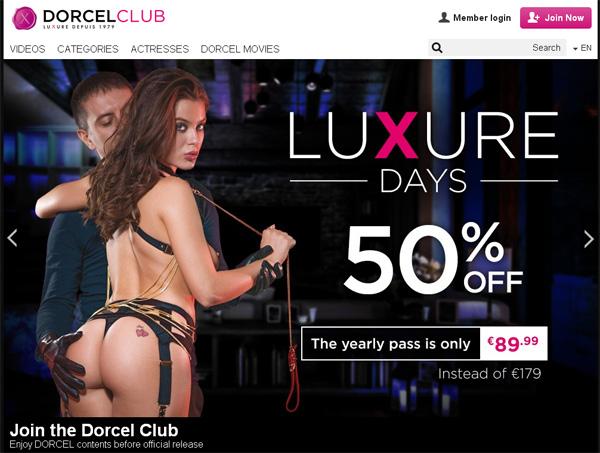 Pay Pal Dorcelclub.com