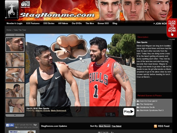 Stag Homme Studios Pay Site