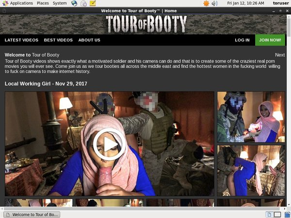 Tourofbooty.com Become A Member