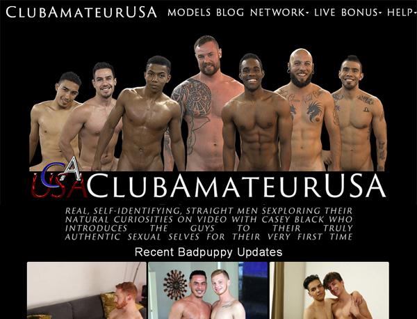 Club Amateur USA Parola D'ordine Gratuito