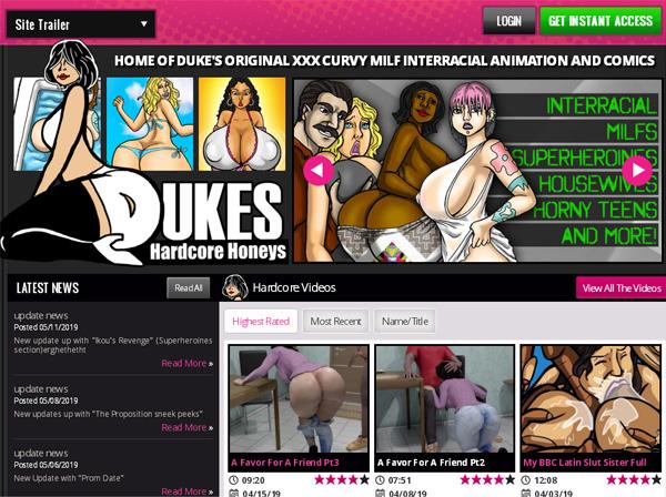 Dukeshardcorehoneys.com Get Trial Membership