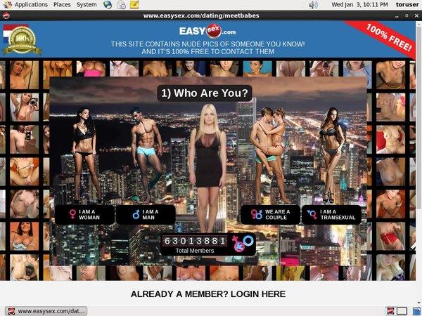 Easysex.com Free Login Password