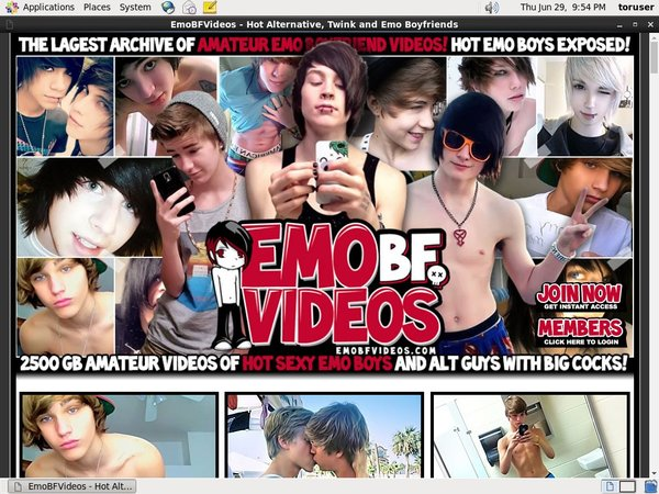 Emo BF Videos Discounted