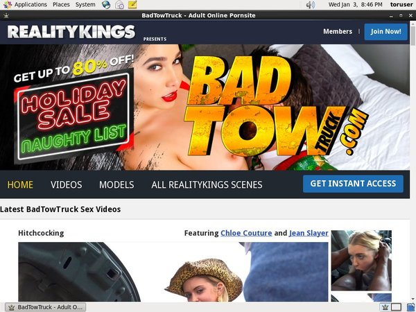 Get A Free Badtowtruck.com Login